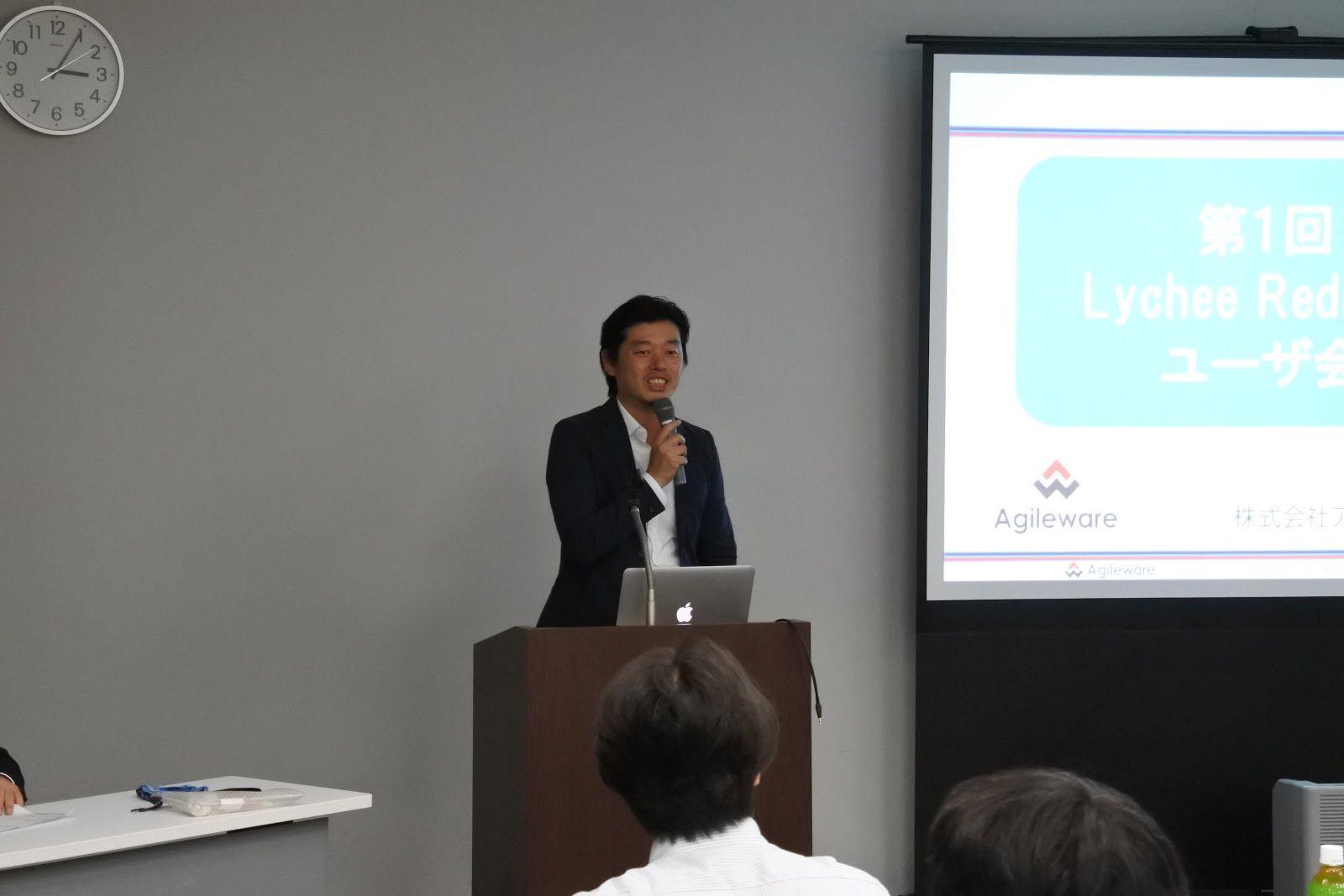 株式会社アジャイルウェア 代表取締役CEO 川端 光義(写真左)<br /> 株式会社アジャイルウェア 水口 崇(写真右)